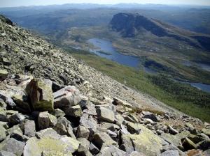 Norwegen2009 06-23 Rjukan-Gausta (32)