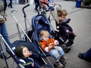Jakob, Linus und Anna